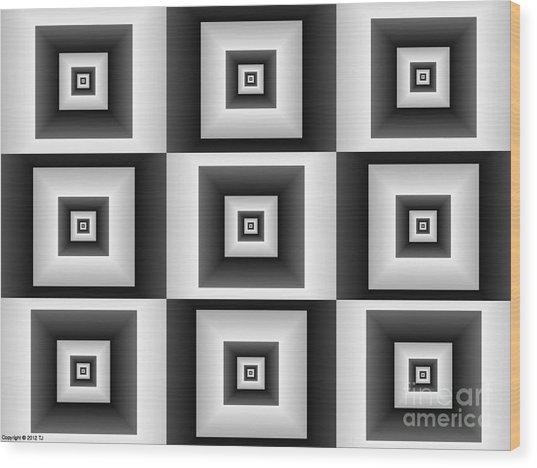 Quadrant  11 Wood Print