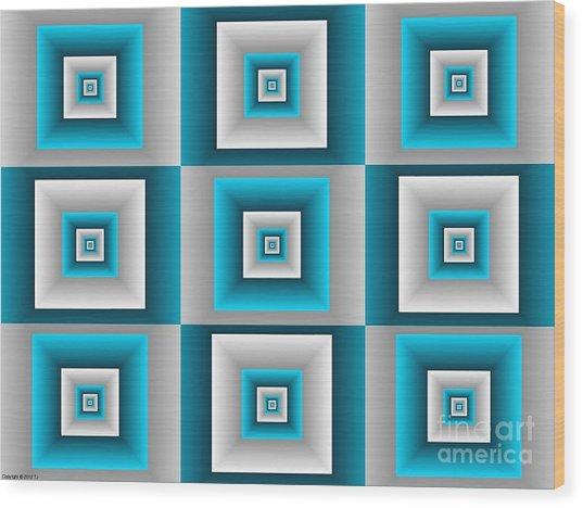 Quadrant  14 Wood Print