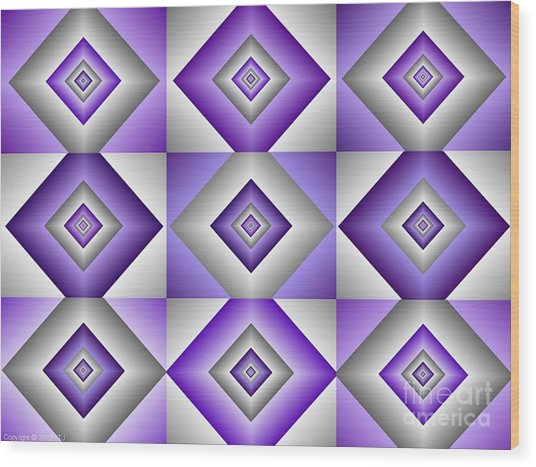 Quadrant  5 Wood Print
