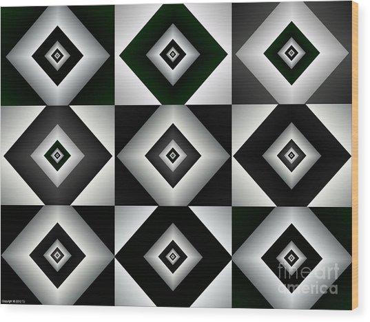 Quadrant  7 Wood Print