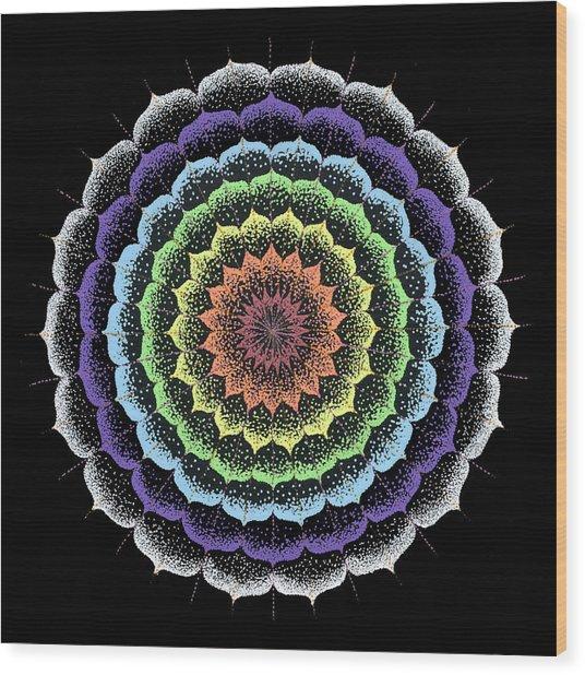 Quan Yin's Healing Wood Print