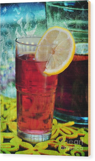 Quench My Thirst Wood Print