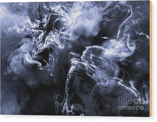 Quetzalcoatlus Dragon Of The Clouds Wood Print by Petros Yiannakas