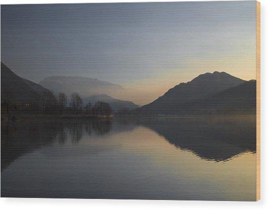 Quiet Morning Wood Print