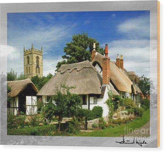 Quintessential Home Wood Print