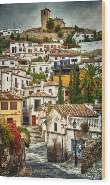 Quintessential Spain Wood Print