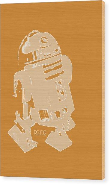 R2d2 Wood Print
