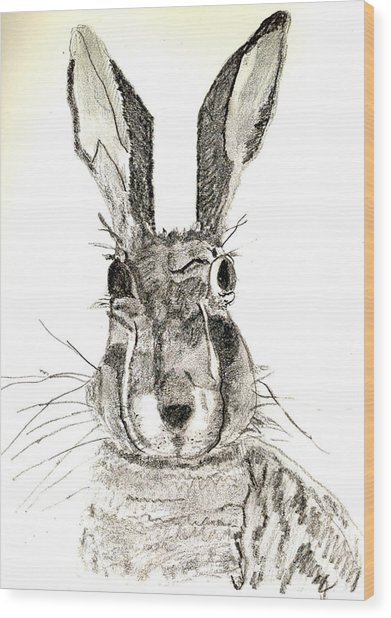 Rabbit Wood Print