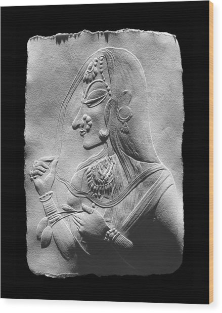 Radha  Wood Print