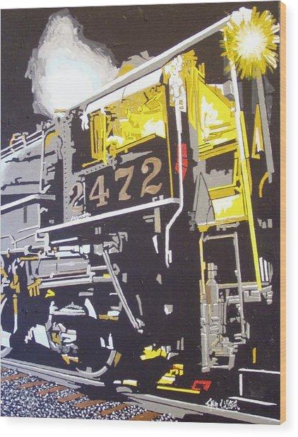 Railroad Museum Wood Print by Paul Guyer