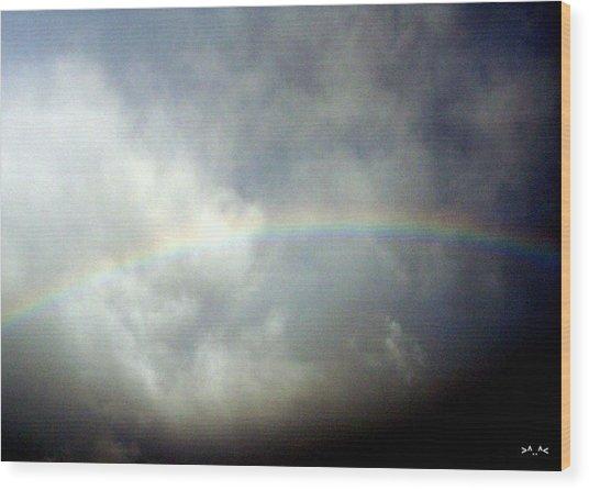 Rainbow II Wood Print