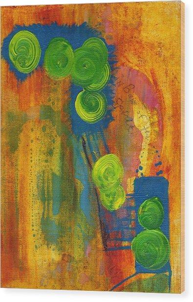 Rainbow Of The Spirit Wood Print