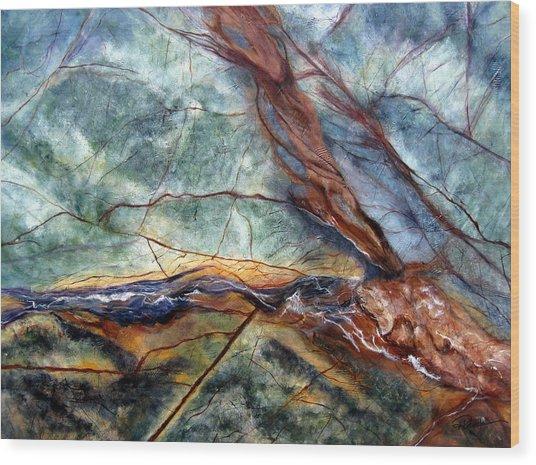 Rainforest I Wood Print