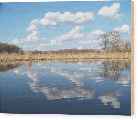 Raisen River1 Wood Print by Jennifer  King