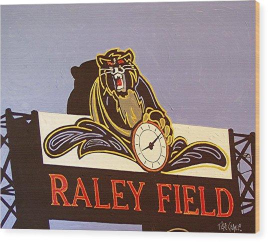 Raley Field Wood Print by Paul Guyer