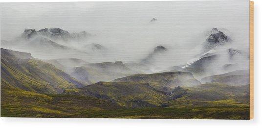 Ramble Thru The Mountains I Wood Print