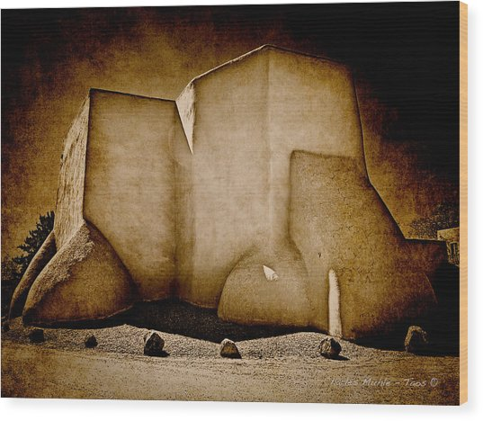 Ranchos Church Xx Wood Print