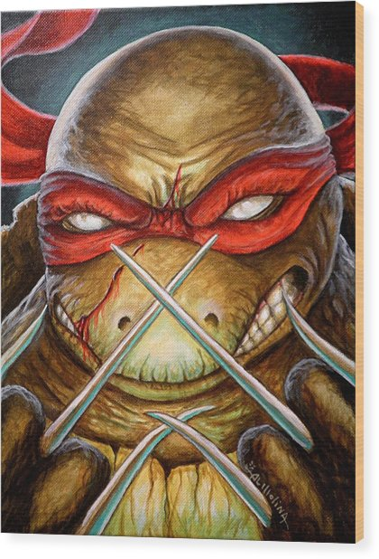 Raphael Unleashed  Wood Print by Al  Molina