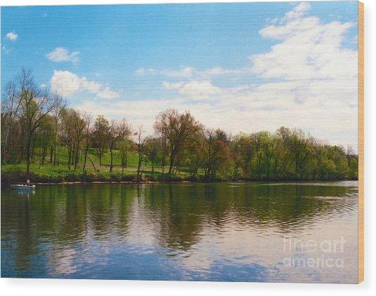 Rappahannock River I Wood Print