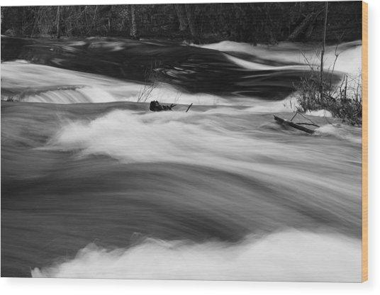 Raquette River #2 Wood Print