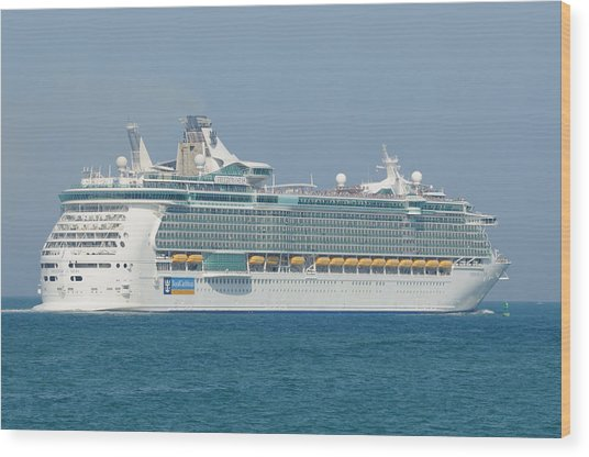 Rci Freedom Of The Seas Wood Print