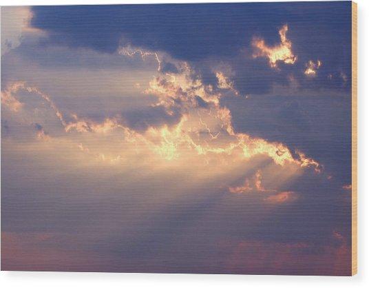Reach For The Sky 2 Wood Print