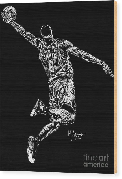 Reaching For Greatness #6 Wood Print