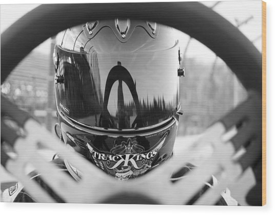 Ready To Race Wood Print by Thomas Fouch