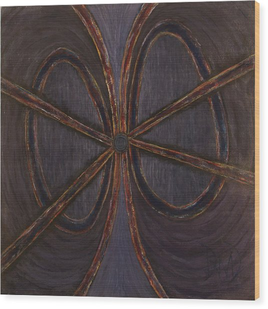 Recession Ribbon Wood Print by David Douthat