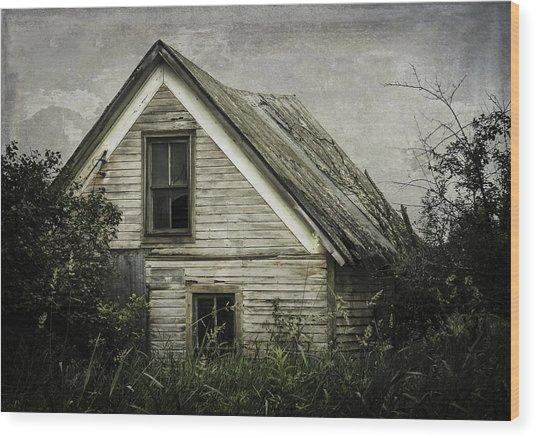 Reclaimed  Wood Print