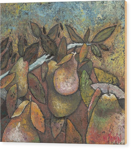 'recognized By It's Fruit' Wood Print
