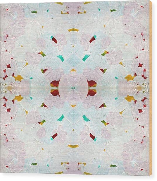 Recombinant Mandala 2 Wood Print