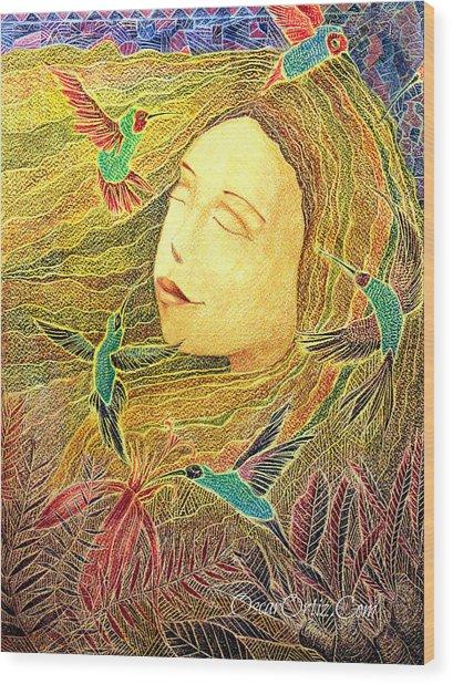 Recordando A Puerto Rico Wood Print