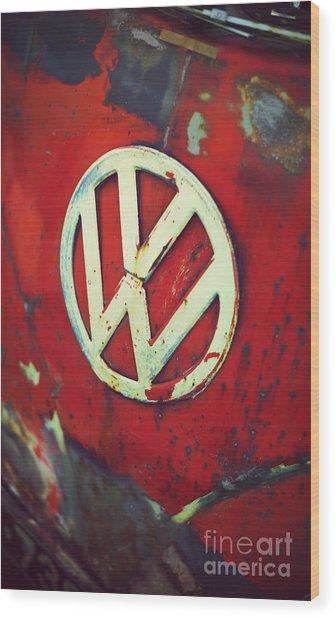 Red Rat Dub Wood Print
