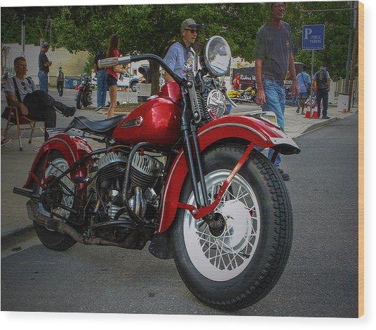 Red Rider Wood Print