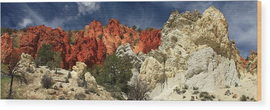 Red Rock Canyon Wood Print