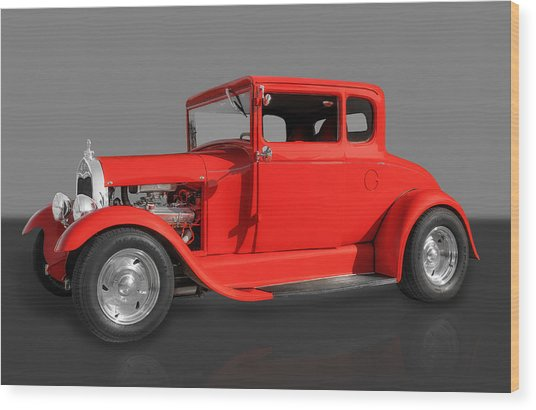 1930 Ford Wood Print by Frank J Benz