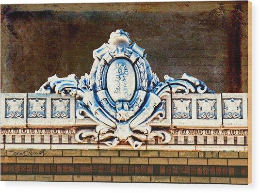 Redfield Roofline 4 Wood Print