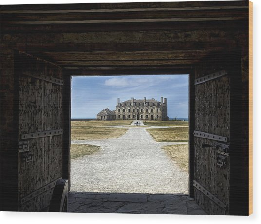Redoubt Gates Wood Print