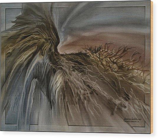 Redrockscape 2010 Wood Print