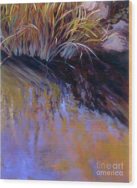 Reeds- No. 2 Wood Print