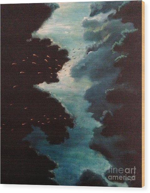 Reef Pohnpei Wood Print