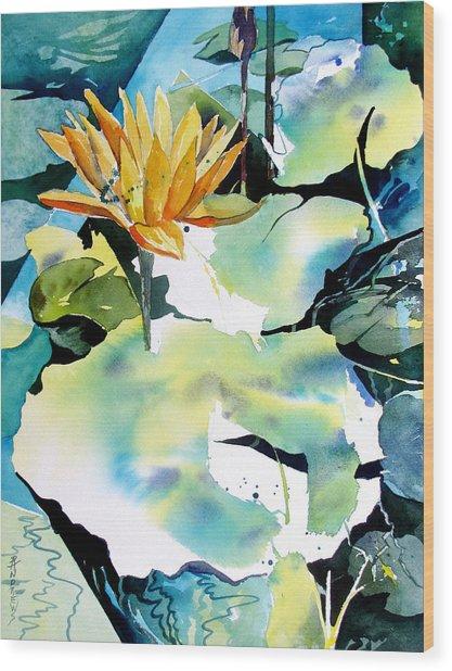 Reflected Magic Wood Print by Rae Andrews