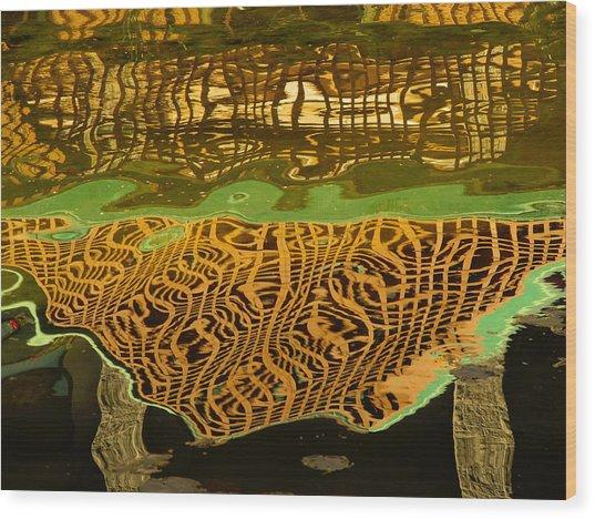 Reflections Baroque 3  Wood Print