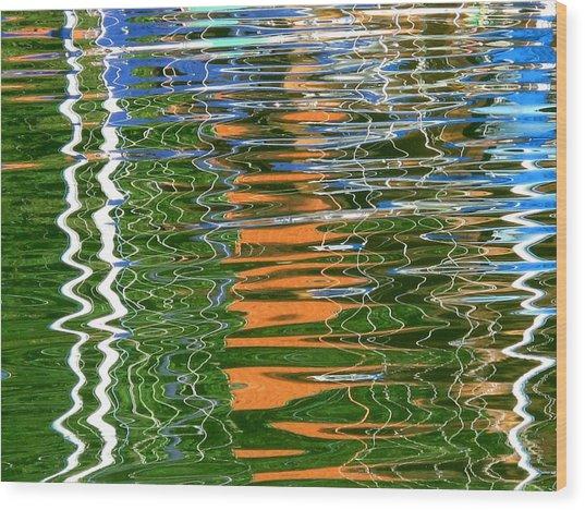 Reflections II Wood Print