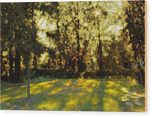 Refrectory Wood Print