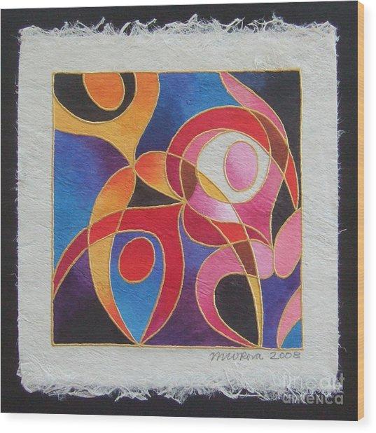 Reki I - Dance For Joy Wood Print