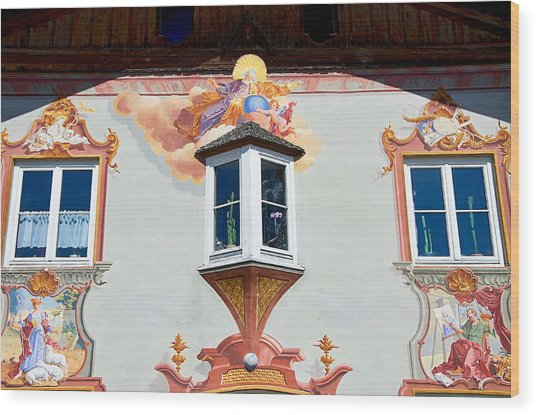 Religious Wall Mural Bavaria Wood Print