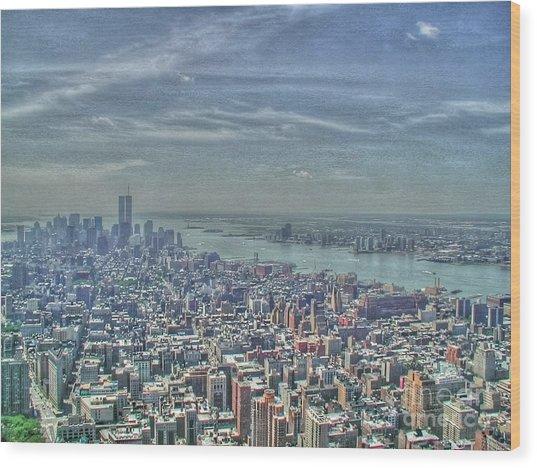 New York Remembering 9/11 Wood Print