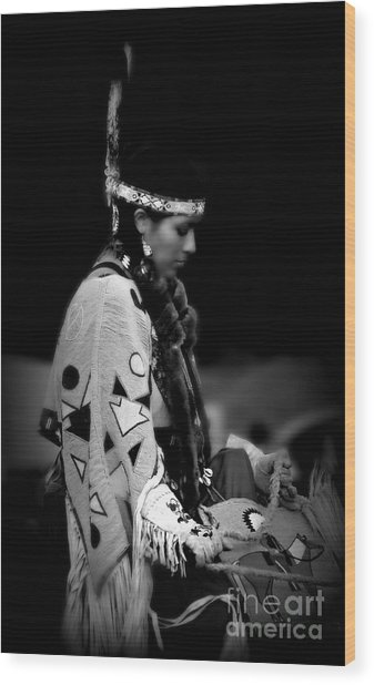 Remembering Ancestors Wood Print by Scarlett Images Photography